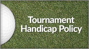 Tournament Handicap Policy