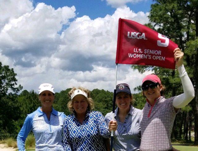 Henderson Embraces U.S. Women's Senior Open Experience